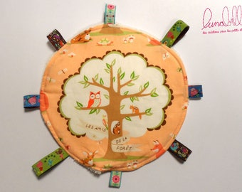 """Cuddly soft """"forest animals"""" labels 1"""