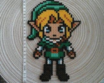 Link from Legend of Zelda Pixel art