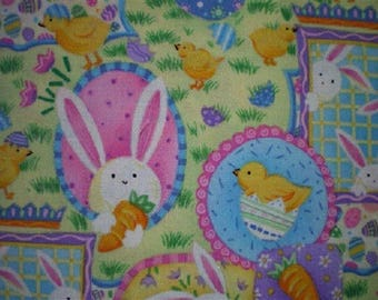 bunnies, chicks ref Easter patchwork fabric