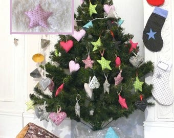 Star Pink Interior, perfect for Christmas tree