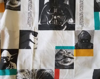 Retro Star Wars Twin Size Bed Sheets