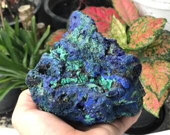 Azurite malachite specimen