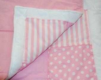 Pretty pink patchwork