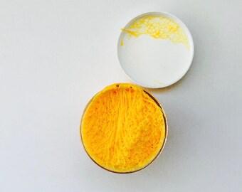 slime, mandarin, orange, goo, putty