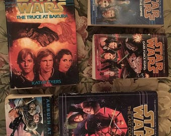 Star Wars: The Truce at Bakura 1st Ed & 4 Other Novels * Near Mint Hardcover