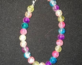 266. Multicoloured Beaded Bracelet