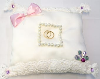 Pillow for wedding rings
