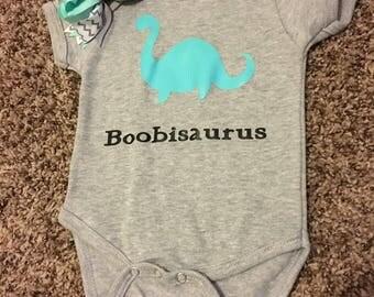Boobisaurus Romper