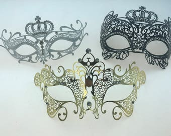 Masquerade Ball Laser-Cut Mask