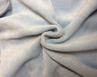 high quality fleece thick blue sky in 150cm