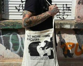 "Totebag ""No. excuses"""