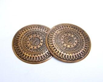 Charms Bohemian - ethnic - boho - crafting - jewelry creations - copper patina - Nanou beads