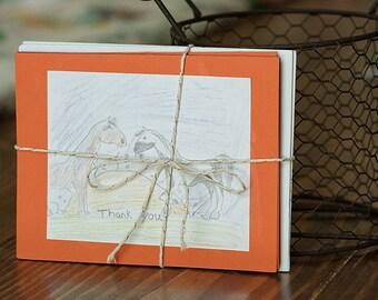 Handmade Horse Card Set