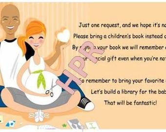 Baby Shower Book Request