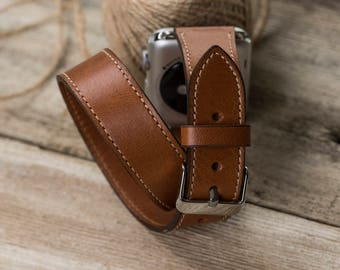 Double Tour Leather Apple Watch Band 38mm Apple Watch Band 42mm Apple iWatch Band SERIES 3 Apple iWatch Strap Apple Watch Strap 38mm /42mm