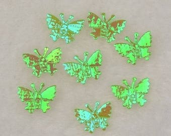 Apply a small Green Butterfly to stick (x 20)