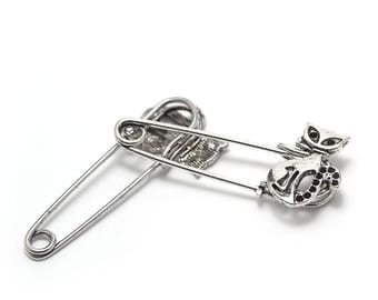 "2 ""Cat"" 52x1mm silver pins"