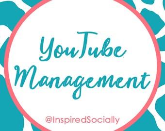 YouTube Management - Social Media Management - Virtual Assistant