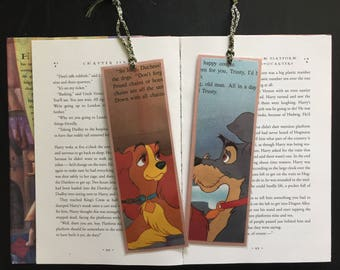 Lady and the Tramp Disney Bookmarks