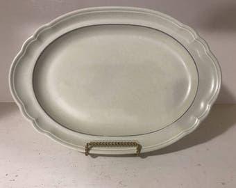 "Vintage Heirloom Pfaltzgraff 14"" x 10"" Serving Platter Tray"