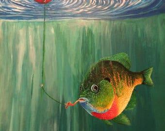 Sunfish Painting