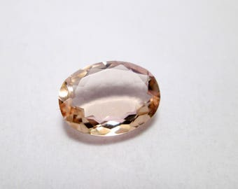 Amazing Quality Natural Morganite,Faceted Oval Shape,AAA+++,High Quality Semi Precious Gemstone in Low Price,For Ring,Rose Gold