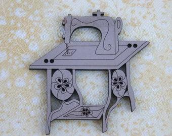 Machin sewing ref:224809915 wood-