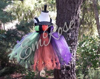 Halloween tulle tutu dress