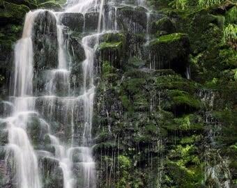 At The Waterfall Photo Print (Various Sizes)