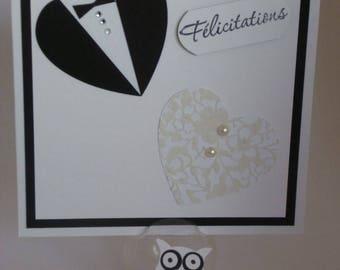 scrapbooking hearts handmade symbolizing married