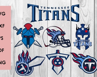 Tennessee Titans SVG, Tennessee Titans DXF, PNG cutting file, Printable, T-shirt Design, Scrapbooking Clipart