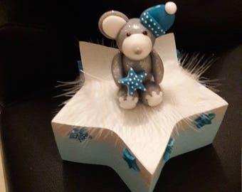 polymer clay star box