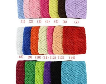 1 crochet bustier pink 15 x 15