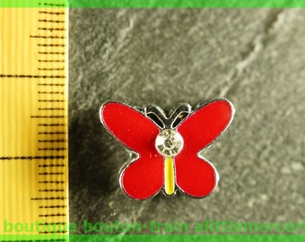 busy N2 Butterfly bead for bracelet 8 mm