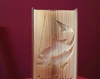 GONE FISHING Book Folding Pattern