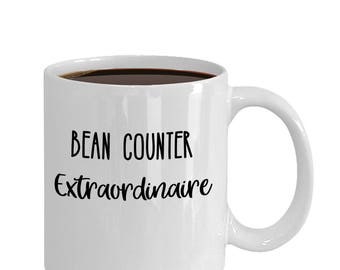Bean Counter Extraordinaire Mug