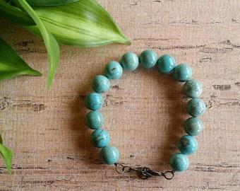 Turquoise Bracelet,  Southwest Bracelet, Boho bracelet, Beaded bracelet, Native American style bracelet.