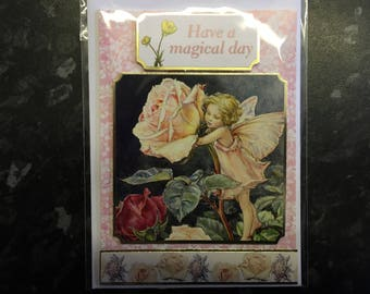 Have a Magical Day Garden Fairy Card