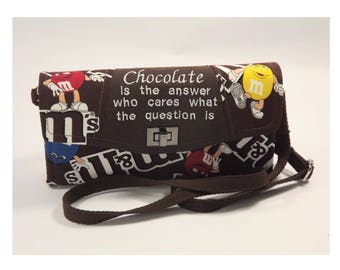 NCW, Necessary Clutch Wallet, Chocolate is the Answer!