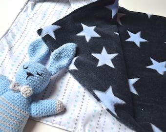 Baby reversible cover dark blue