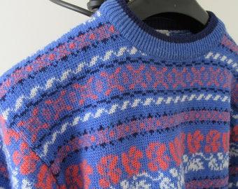 Vintage. Retro Size 16 Dorothy Perkins Jumper. Vintage Sweater Size 16. 1980 Sweater. 1980 Jumper. Retro Sweater. Retro Jumper