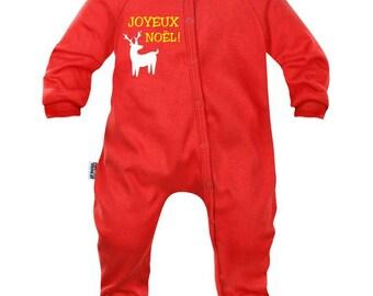 Baby pyjamas: Merry Christmas!