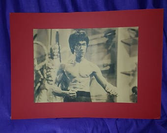 Enter the Dragon mounted poster