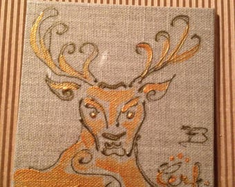 Mini deer picture