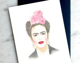 Frida Greeting card - Carte de souhaits