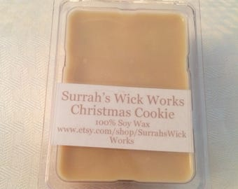 Christmas Cookie Scented Soy Wax Melt