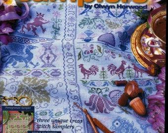 Olwyn's Treasured Samplers - Olwyn Horwood - Cross Stitch Samplers book
