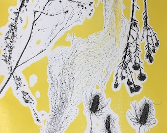 Yellow Grass II Monoprint