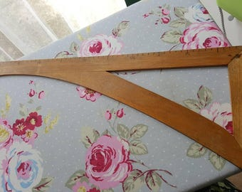 Vintage wooden ruler, dressmaking ruler,  tailors ruler