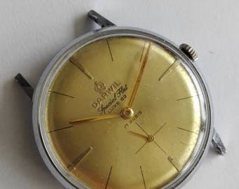 Vintage DARWIl Special Flat LUXE 62, 17 rubis Swiss Made